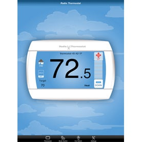 thermostat, Verizon's Home Monitoring and Control, Nest, Lowe's Iris