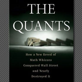 Quants book cover