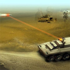 Army, laser, weapon