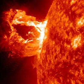 CME, solar storm