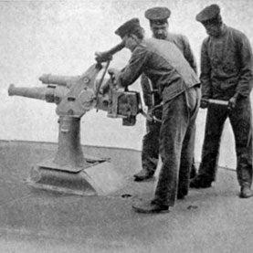 submarine gun