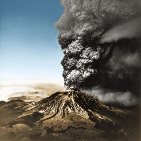 volcano, mount st. helens, eruption
