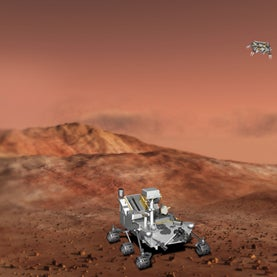 The Top 10 Science Stories of 2012, Curiosity Rover, Mars