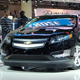 chevy volt, carbon emissions, electric vehicles