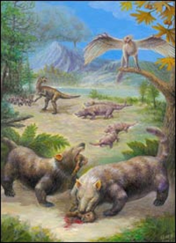 Early Mammal Dined on Dinosaurs