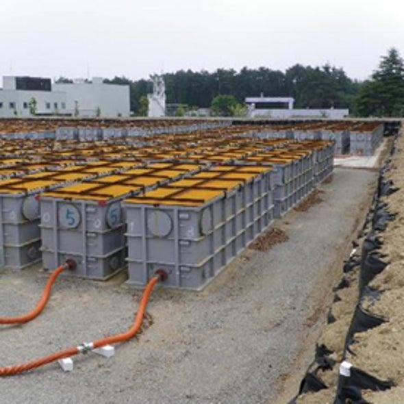 Fukushima Meltdown Mitigation Aims to Prevent Radioactive Flood