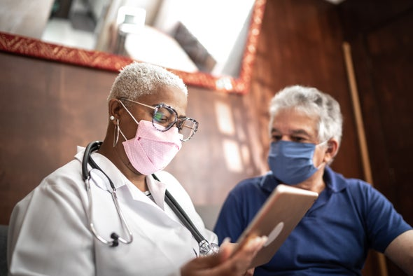 COVID Cases Plummet among Nursing Home Staffers despite Vaccine Hesitancy