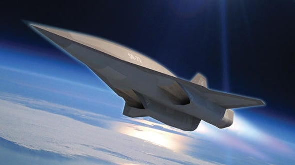 Lockheed envisions Mach 6 successor to SR-71 Blackbird