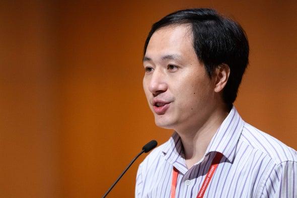 "Scientist behind ""CRISPR Babies"" Fired by University"