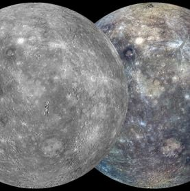 Spacecraft Makes First Complete Map of Planet Mercury