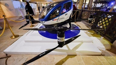 Forget Flying Cars: Passenger Drones May Be Hovering Soon at a Location Near You