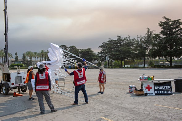 2020 Is a Record Year for Disaster Shelters, Red Cross Says
