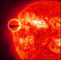 infrared exoplanet