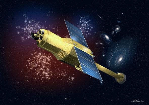 Japanese X-Ray Satellite Loses Communication with Earth