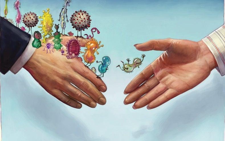 Our Temporary Moratorium against Handshakes Should Become Permanent - Scientific American