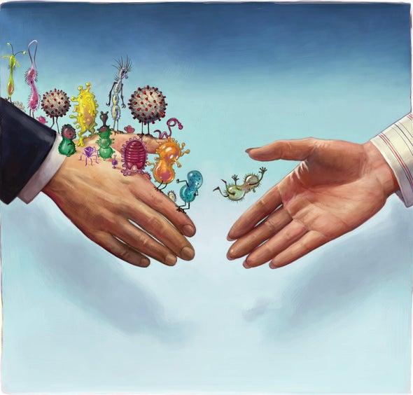 Our Temporary Moratorium against Handshakes Should Become Permanent
