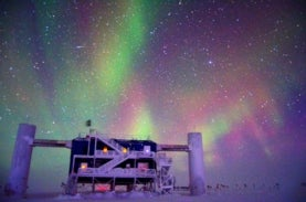 The IceCub Neutrino detector at the South Pole