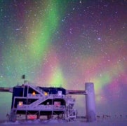 Exotic Space Particles Slam into Buried South Pole Detector