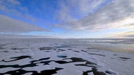Dust from Melting Glaciers Could Create Clouds
