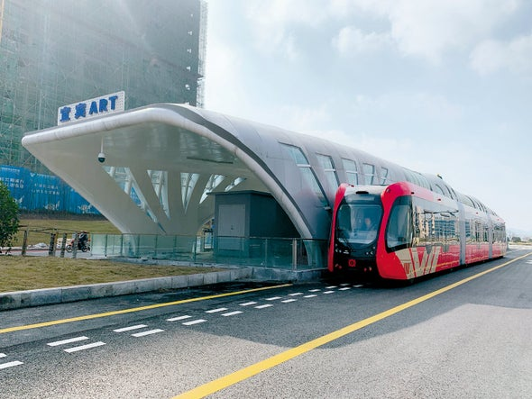Will Trackless Trams Gain Traction in the U.S.?
