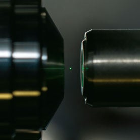 Laser Physicists Levitate Tiny Diamonds for Quantum Experiments
