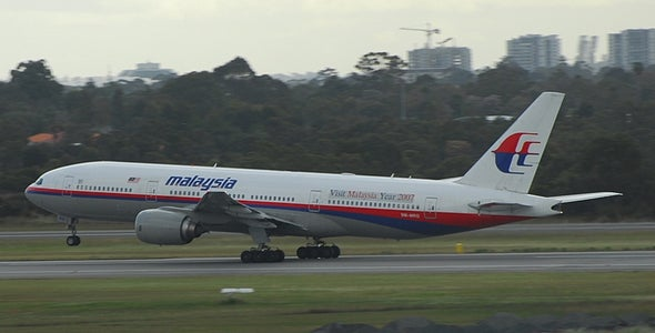 Malaysia Airlines Jetliner Disappearance Likely Is Temporary
