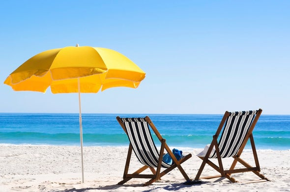 Umbrellas Plus Sunscreen Best Bet to Beat Burns
