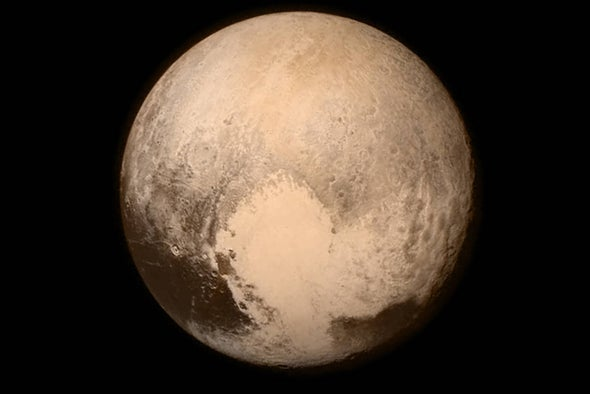 Collision on One Side of Pluto Ripped Up Terrain on the Other, Study Suggests