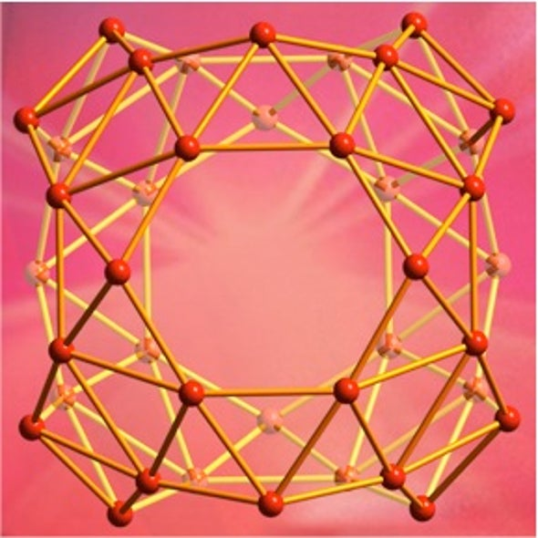 "First ""Buckyball"" Molecules Created from Boron"