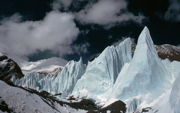 Giant, Deadly Ice Slide Baffles Researchers