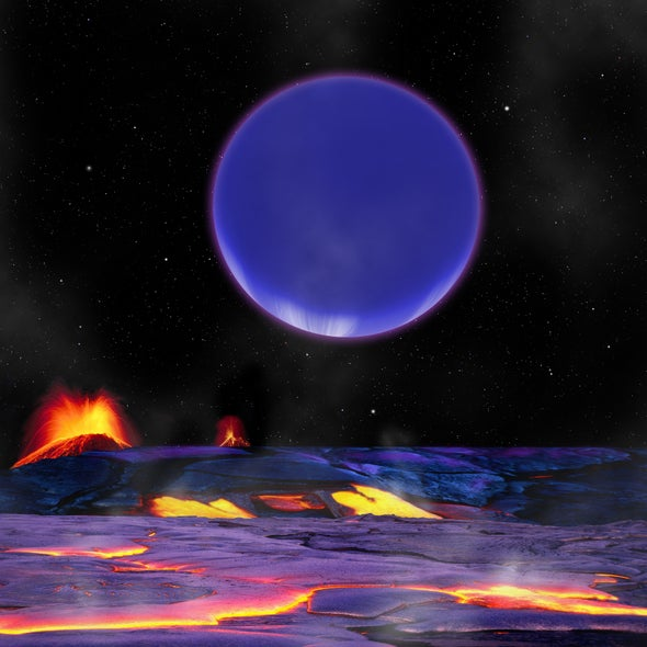 """""""Toffee Planets"""" Hint at Earth's Cosmic Rarity"""