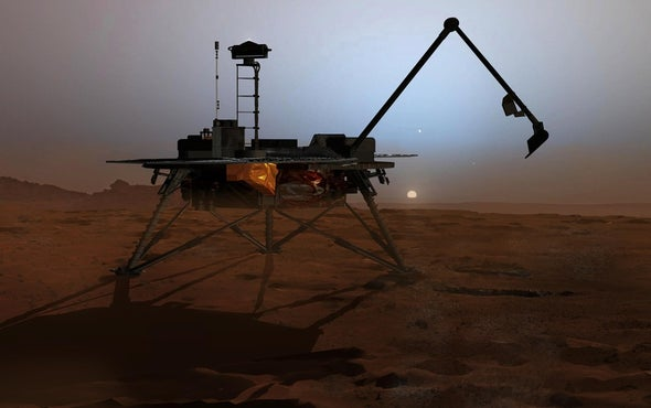 Breezes Could Help Power Landers on Mars