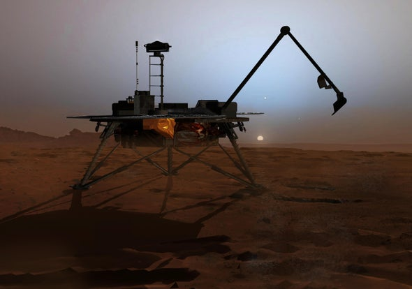 Breezes Could Help Power Landers on Mars