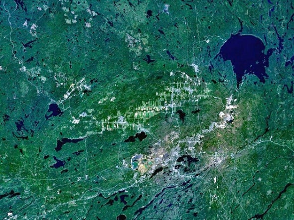 Comet Strike to Blame for Canada's Iconic Sudbury Basin