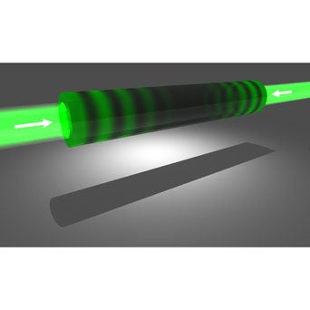 """Beam Bagged: """"Reverse Laser"""" Functions as Near-Perfect Light Absorber"""
