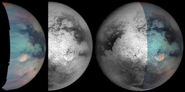 Titan's Strange Spot