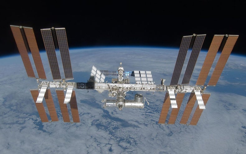 Inside the International Space Station With Google Street View