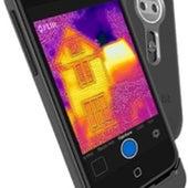Thermal imaging smartphone camera