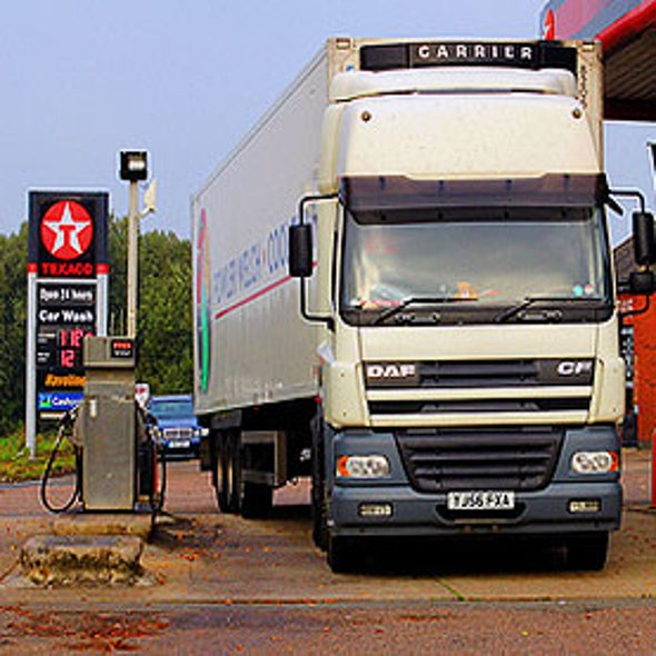 Business Aims to Replace Diesel as Fuel for Trucking