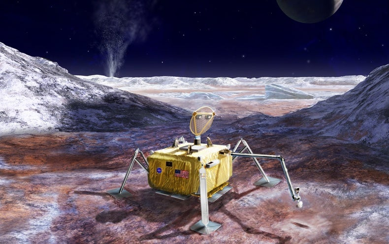 Europa Mission Heralds Sea Change in the Search for Alien Life [Video]