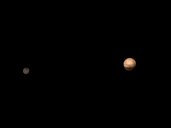 Pluto and Charon Come into Sharper Focus