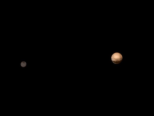 Pluto and Charon Come into Sharper Focus