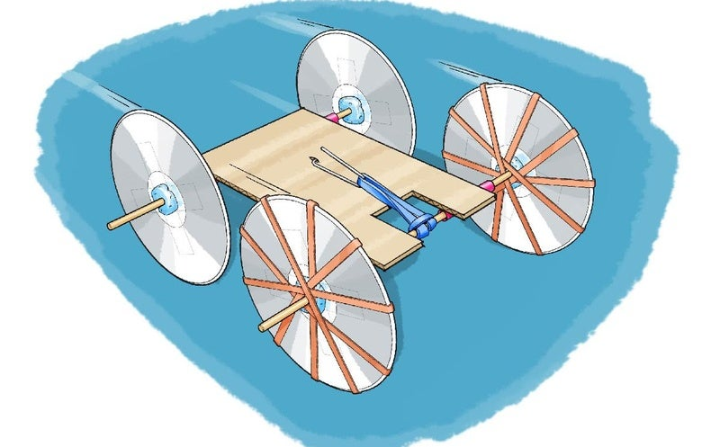 Build a Rubber Band–Powered Car - Scientific American