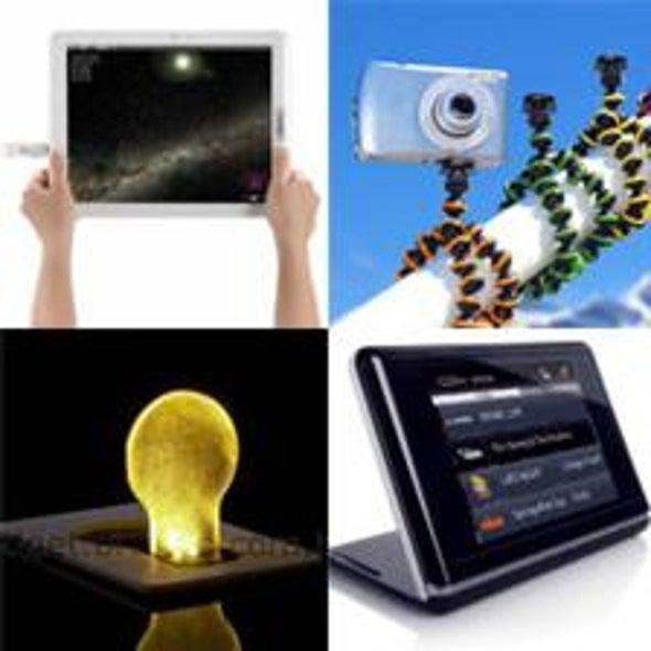 <i>SciAm</i>'s 2009 Gadget Guide: 10 Tech Toys You Deserve after a Tough Year [Slide Show]