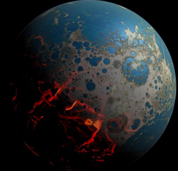 Early Earth's Atmosphere Was Surprisingly Thin