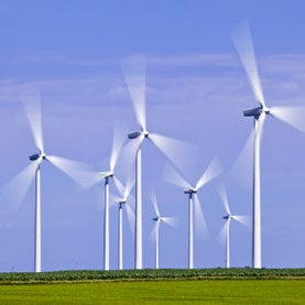 The Streator Cayuga Ridge South Wind Farm