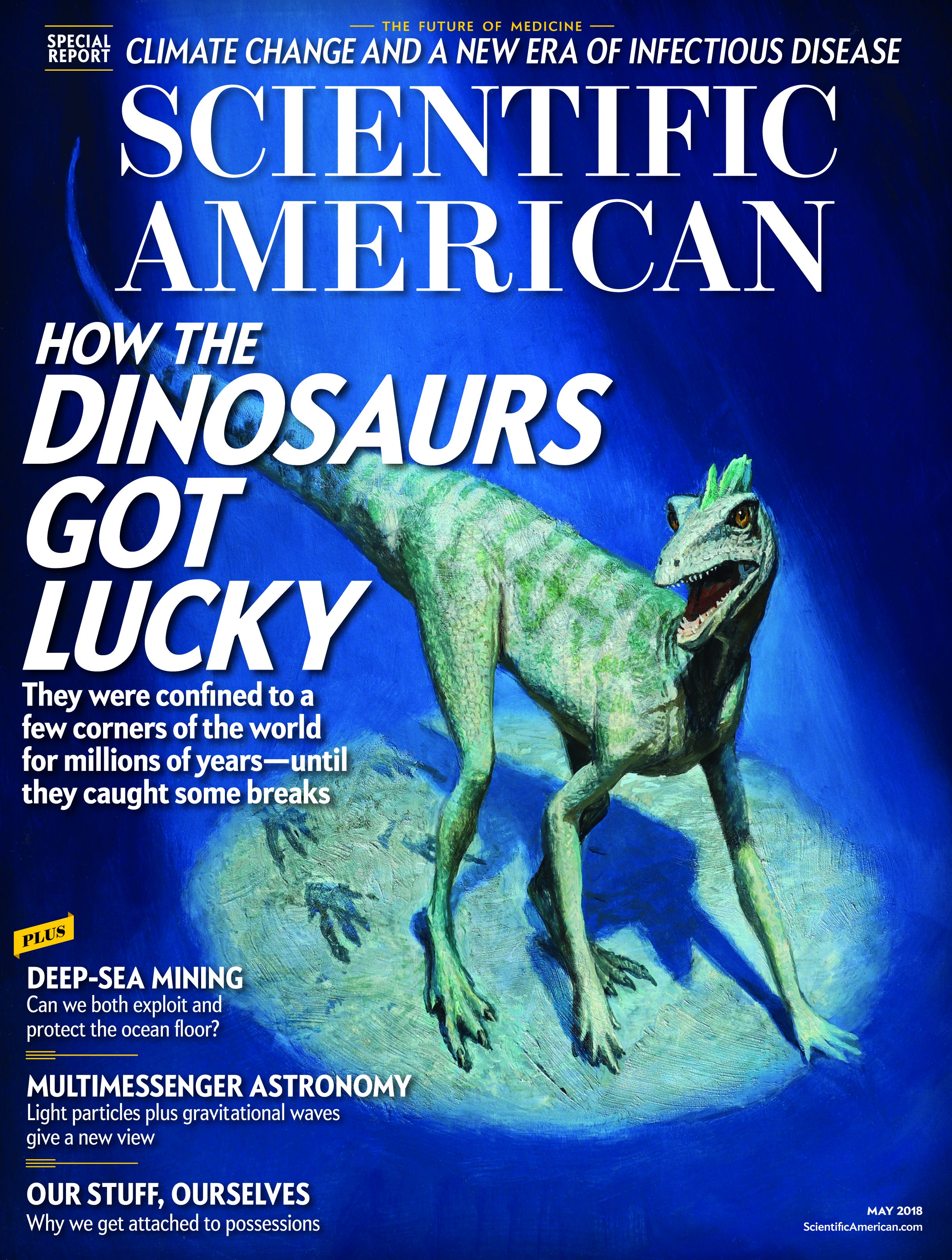 Scientific American Volume 318, Issue 5