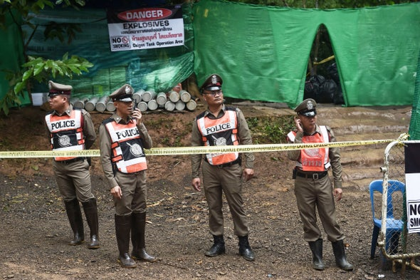 Rescued Thai Boys Being Watched for Illnesses Caught from Cave Animals