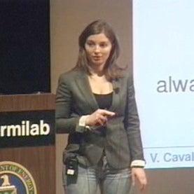 Physicist Viviana Cavaliere of UIUC