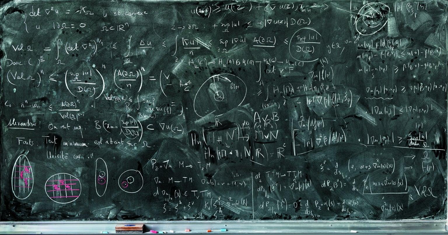 The Art of Mathematics in Chalk